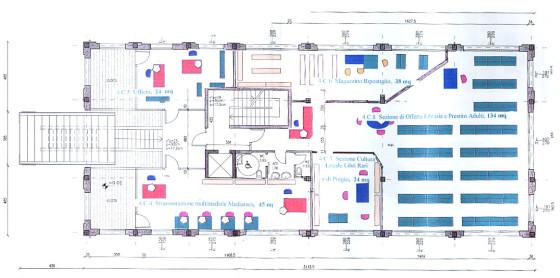 """Una pagina del """"Progetto biblioteconomico della Nuova Biblioteca Centro Culturale di Quarto d'Altino"""" commissionato nel 2003 dalla giunta Marcassa al bibliotecario di Abano Terme"""